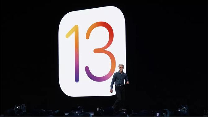 Apple memperkenalkan iOS 13 dalam ajang WWDC 2019 (Foto: James Martin/ CNET)