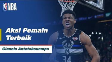 Berita video aksi-aksi terbaik dari MVP Final NBA 2021, Giannis Antetokounmpo, saat mengantarkan Milwaukee Bucks meraih kemenangan pada gim keenam, Rabu (21/7/2021) pagi hari WIB.