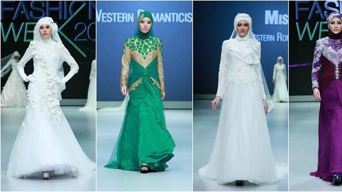 Cantiknya Koleksi 10 Gaun Pengantin Muslim Karya Misan Fashion