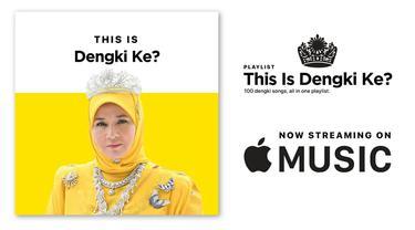 Playlist 'Dengki Ke?' buatan seniman Fahmi Reza. Ini menyindir ucapan Ratu Tunku Azizah Aminah Maimunah.
