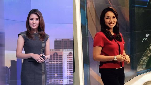 Keseruan Perayaan Natal 2 News Presenter Cantik Liputan 6 Sctv Citizen6 Liputan6 Com