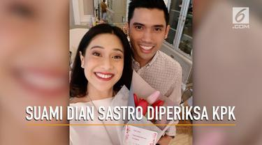 Suami Dian Sastro dipanggil KPK sebagai saksi kasus dugaan korupsi Garuda Indonesia.