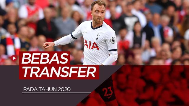 Berita video 10 pemain paling bernila yang bersatatus bebas transfer tahun 2020.