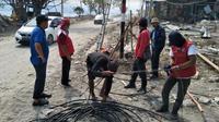 Pemulihan energi dan telekomunikasi di Sulawesi Tengah (Foto: Dok Kementerian BUMN)