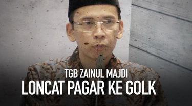 Muhammad Zainul Majdi bergabung ke Partai Golkar setelah sebelumnya diisukan bergabung ke Partai NasDem.