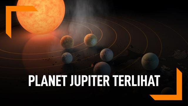 Penyebab Planet Jupiter Tampak Jelas Dari Bumi