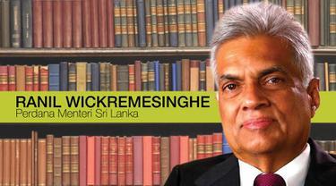 Perdana Menteri Sri Lanka Ranil Wickremesinghe