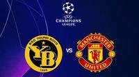 Liga Champions - Young Boys Vs Manchester United (Bola.com/Adreanus Titus)