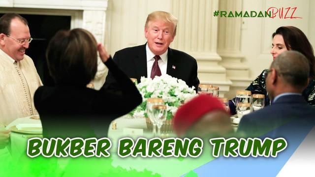Ramadan Buzz kali ini hadir dengan cerita perajing songkok di Banyuwangi yang kebanjiran pesanan, buka puasa bersama Presiden Trump, dan polisi di Boyolali bagi-bagi takjil gratis.