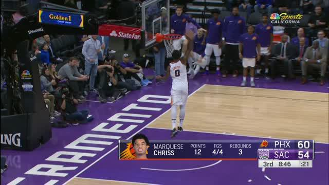 Berita video game recap NBA 2017-2018 antara Phoenix Suns melawan Sacramento Kings dengan skor 111-101.