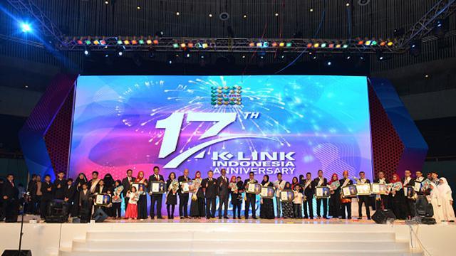 Perayaan Sweet 17 K-Link Indonesia AngkatTema Ladies Syariah Online