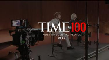 100 Most Influential People of 2021 atau 100 Orang Paling Berpengaruh tahun 2021 versi Majalah TIME.(Screenshot TIME)