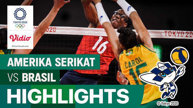 Berita Video, Amerika Serikat Pertahankan Emas Kedua usai Kalahkan Brasil di Olimpiade Tokyo 2020