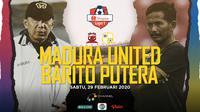 Shopee Liga 1 2020: Madura United vs Barito Putera. (Bola.com/Dody Iryawan)