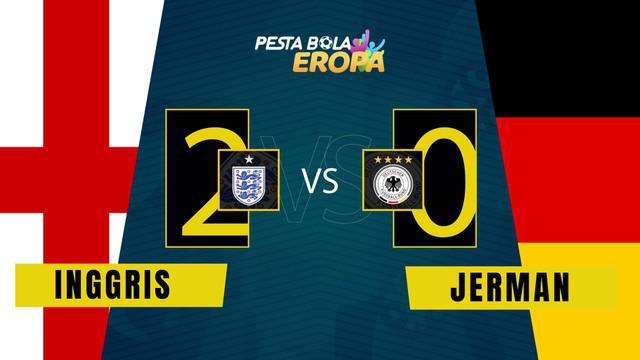 Berita Video, Kalahkan Jerman, Timnas Inggris Melenggang ke Perempat Final Euro 2020