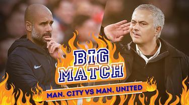 Berita Video Manchester City Vs Manchester United, Ajang Pembuktian Mourinho dan Guardiola