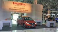 Honda Mobilio RS menandai produksi Honda ke-1 juta unit. (Septian/Liputan6.com)