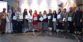 Muslim Fashion Festival (MUFFEST) akan kembali digelar di tahun 2020 ini, pastinya ajang yang satu ini untuk mengakomodir munculnya tren busana muslim terbaru. Tahun ini mengusung konsep sustainable. (Daniel Kampua/Fimela.com)
