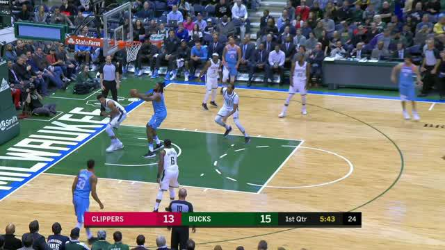 Berita video game recap NBA 2017-2018 antara LA Clippers melawan Milwaukee Bucks dengan skor 127-120.