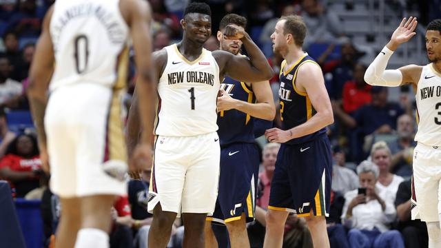 NBA: Zion Williamson Gemilang, Pelicans Wins Thin over Jazz