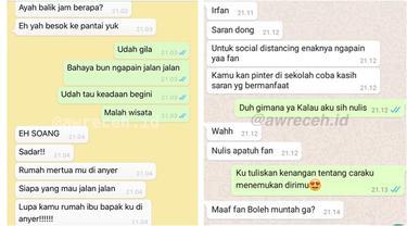 6 Chat Netizen di Tengah Social Distancing, Malah Ada yang Ngegombal