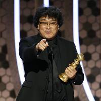 Sutradara Parasite, Bong Joon Ho. (Paul Drinkwater/NBC via AP)