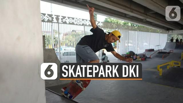 DKI Jakarta membuat taman bermain skateboard atau skatepark. Skatepark tersebut memiliki standar internasional.
