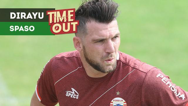 Berita video Time Out kali ini tentang rayuan penyerang Bali United, Ilija Spasojevic, kepada striker Persija Jakarta, Marko Simic.