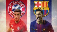 Philippe Coutinho - Bayern Munchen dan Barcelona (Bola.com/Adreanus Titus)