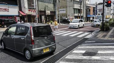 Kondisi Jalan Jepang