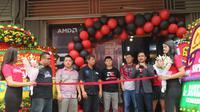 AMD meresmikan eSports Gaming Arena pertamanya di Indonesia, yaki di i-cafe Supernova, Tanjung Duren, Jakarta Barat.