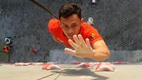 Atlet panjat tebing Indonesia Veddriq Leonardo (foto: fpti.or.id)