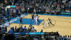Berita video game recap NBA 2017-2018 antara Denver Nuggets melawan Oklahoma City Thunder dengan skor 126-125.