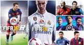 Bintang Barcelona, Lionel Messi, menjadi pesepak bola yang paling sering menjadi cover game FIFA dalam satu dekade. Sebanyak empat kali bintang Argentina itu menjadi sampul, berikut deretan cover dari game FIFA dalam 10 tahun terakhir. (EA Sports)
