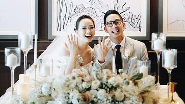 [Fimela] Pernikahan Yuanita Christiani