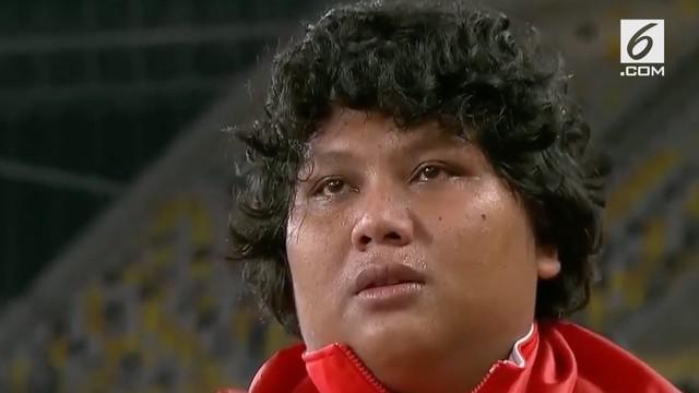 Atlet tolak peluru putri, Eki Febri Ekawati sukses membanggakan Indonesia dengan meraih emas pada SEA Games 2017.