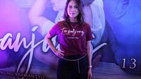 Kinaryosih, Preskon film Tersanjung The Movie, di Epicentrum, (13/3/2020). (Adrian Putra/Fimela.com)
