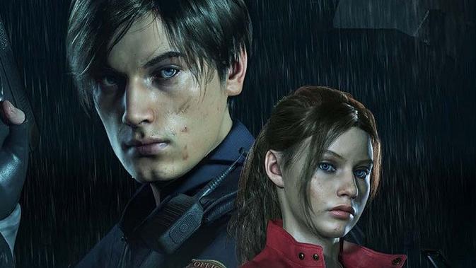 Leon Kennedy dan Claire Redfield di Resident Evil 2 Remake. Foto: Capcom