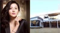 Rumah Lee Young Ae memiliki halaman yang sangat luas dan kebun sayur (Dok.Pinretst/YouTube)