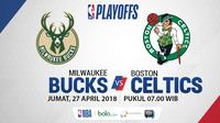 Playoff 2018 Milwaukee Bucks Vs Boston Celtics_Game 5 (Bola.com/Adreanus Titus)