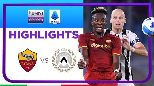 Berita video highlights Liga Italia, Tammy Abraham bawa AS Roma menang atas Udinese 1-0, Jumat (24/9/21)