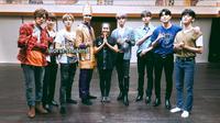 NCT 127 Belajar Tari Saman (YouTube /  채널 NCT DAILY)