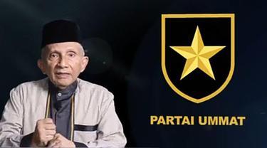 Amien Rais Perkenalkan Logo Partai Ummat.