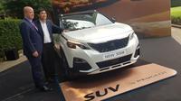 Sport utility vehicle (SUV) Peugeot 3008 resmi meluncur di Indonesia.(Herdi/Liputan6.com)