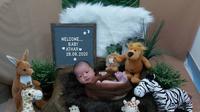 Momen Pemotretan Baby Keene Atharrazka Anak Citra Kirana. (Sumber: Instagram.com/rezkyadhitya.update)
