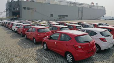 Honda Brio produksi karawang resmi dikirim ke Filipina