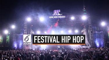 Festival Hip Hop terbesar di Indonesia sukses digelar pada Sabtu (1/9/2019). Festival yang menghadirkan musisi hip hop dari Malaysia, Indonesia, hingga Korea Selatan.