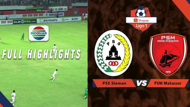 Berita video highlights Shopee Liga 1 2019 antara PSS Sleman melawan PSM Makassar yang berakhir dengan skor 3-2, Jumat (23/8/2019).