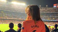 Nadia Aviles Garcia merupakan kekasih gelandang Barcelona Denis Suarez (Foto: Instagram)