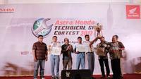 Pelajar Asal Yogyakarta Menang Kontes Teknik Sepeda Motor Honda